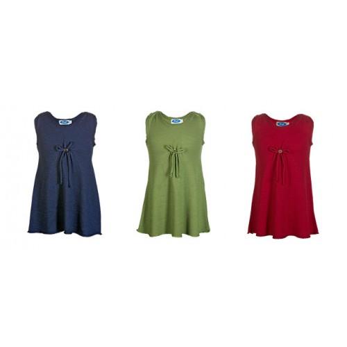 Frotteekleid für Mädchen aus Bio-Wolle/Seide | Reiff