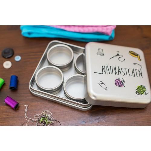 Nähkästchen aus Weißblech - recycelbar | Tindobo