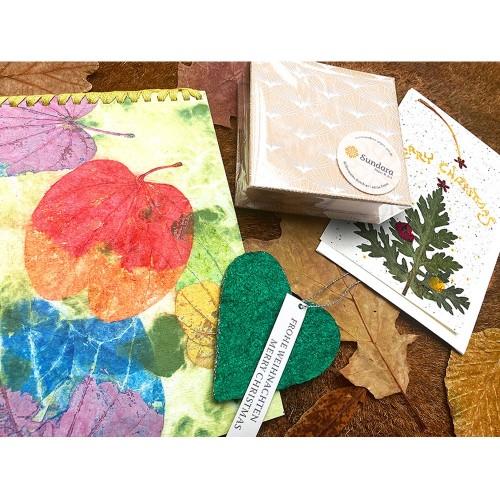 Öko Geschenkset für Künstlernaturen - Fairtrade | Sundara Paper Art