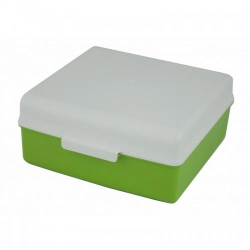 Gies quadratische Aufbewahrungsbox, Green PE