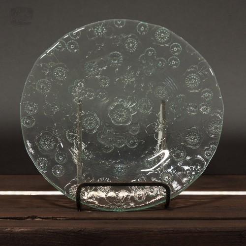 Glasteller mit Blumenmuster | Vidrios San Miguel