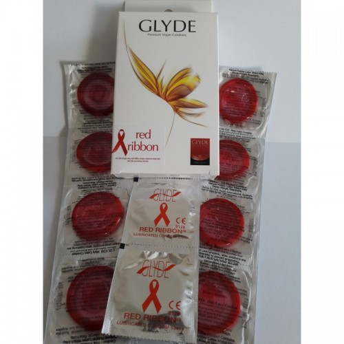Glyde Red Ribbon Vegane Kondome