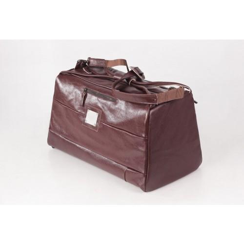 Große Upcycling Reisetasche Sporttasche Bordeaux