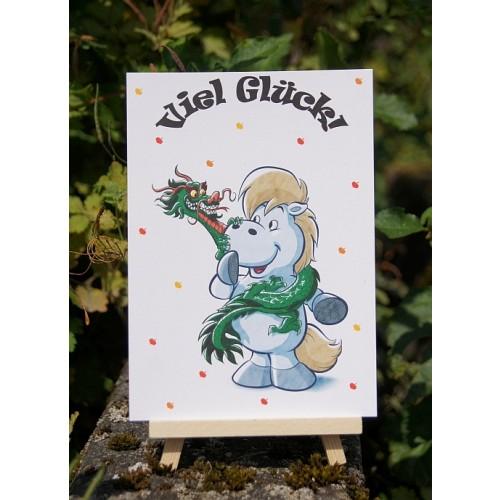Postkarte - Grüße und Wünsche - Viel Glück 2