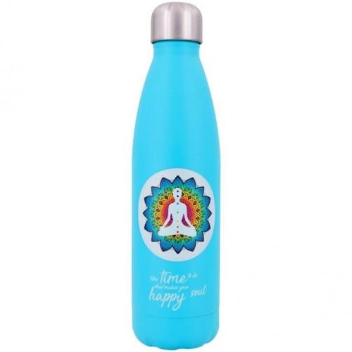 Dora's Edelstahl Thermoflasche YOGA - Trinkflasche