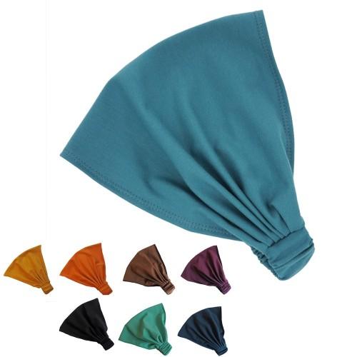 Unifarbenes Haarband Bio-Jersey viele Farben   bingabonga