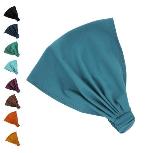 Unifarbenes Haarband Bio-Jersey viele Farben | bingabonga