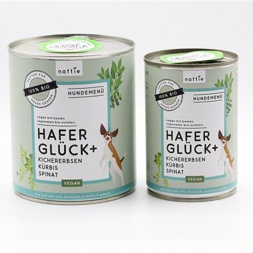 Bio-Nassfutter vegan BIO HAFER GLÜCK+ von naftie
