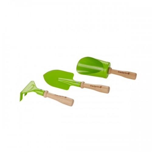 EverEarth Hand-Gartengeräte Set für Kinder, 3-teilig
