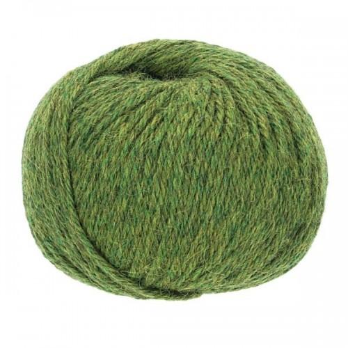 Baby ALPAKA-SOFT Handstrickgarn, 50g Mid Green | Apu Kuntur