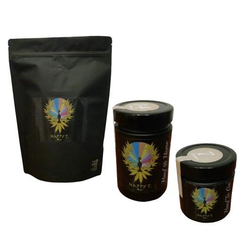 HAPPY T. Hanf Tee, zertifizierter Naturhanf Tee | Happywood