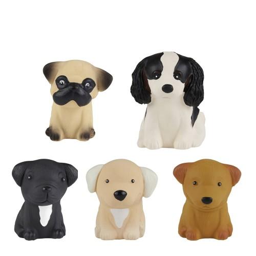 Hevea Puppy Parade - Öko Spielzeug für Hunde & Kinder