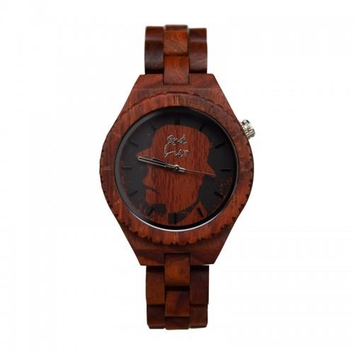 Damen Armbanduhr RED WOMEN rotes Sandelholz