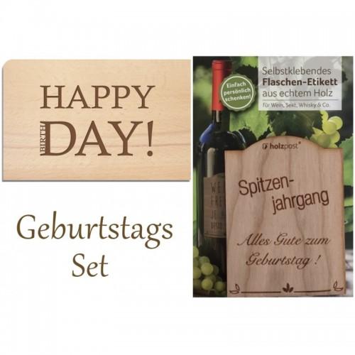 Holzpost – Nachhaltiges Geburtstagsgeschenk