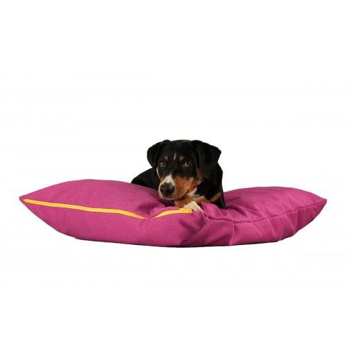 BUDDY. Hundekissen pink, Öko Liegekissen für Hunde | naftie