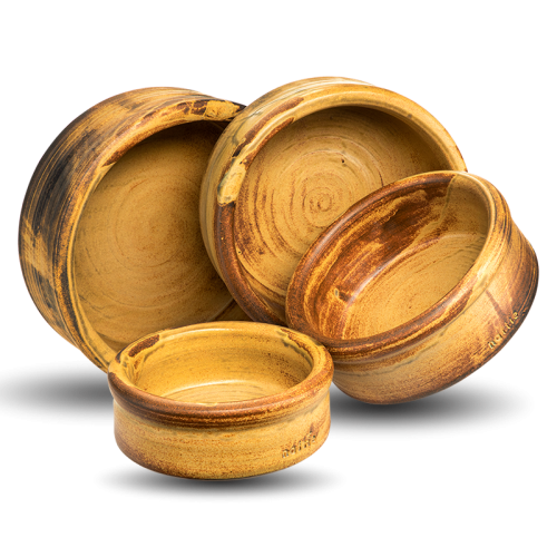 Keramiknapf Erdkraft von naftie handgefertigt