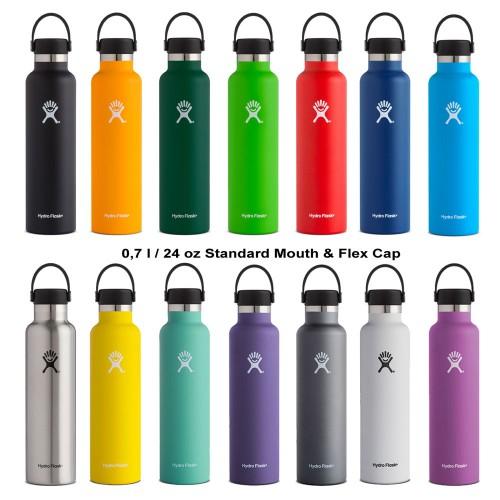 Edelstahlflasche 0,7l Standard & Flex Cap | Hydro Flask