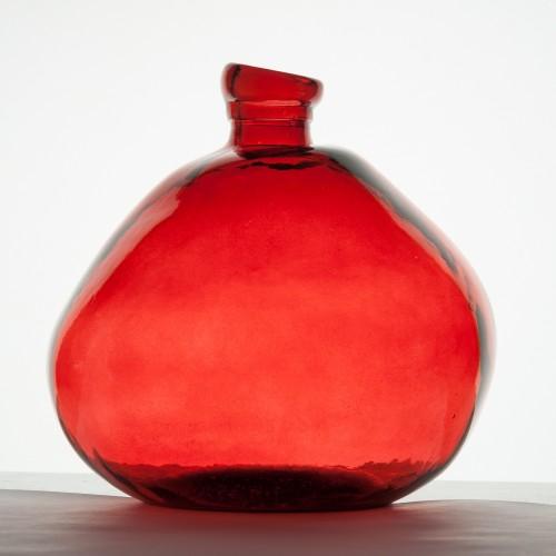 Recycling Glasvase Organic rot | Vidrios Reciclados San Miguel