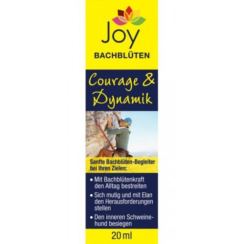 Joy Bachblüten Courage & Dynamik gegen Angst | Bilona
