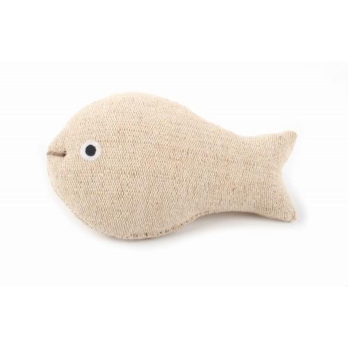 Öko Katzenspielzeug Fisch aus 100% Jute