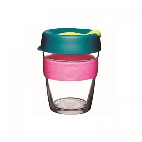 KeepCup Brew Atom - Glas Mehrwegbecher für Kaffee & Espresso