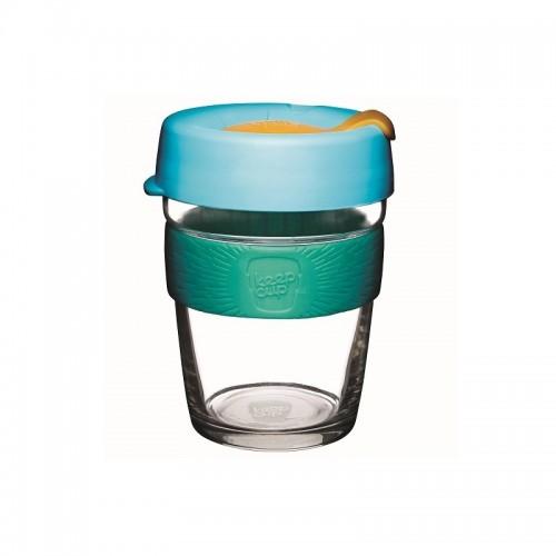 KeepCup Brew Breeze - Glas Mehrwegbecher für Kaffee & Espresso