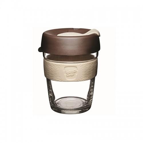 KeepCup Brew Roast - Glas Mehrwegbecher für Kaffee & Espresso