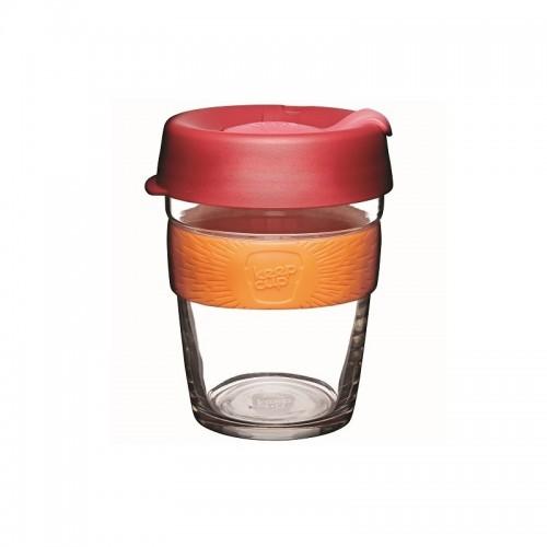 KeepCup Brew Solar - Glas Mehrwegbecher für Kaffee & Espresso
