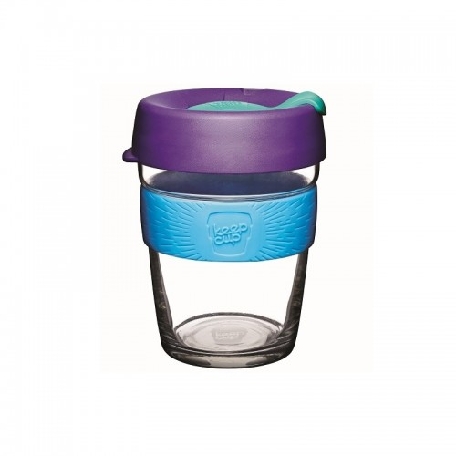 KeepCup Brew Tidal - Glas Mehrwegbecher für Kaffee & Espresso