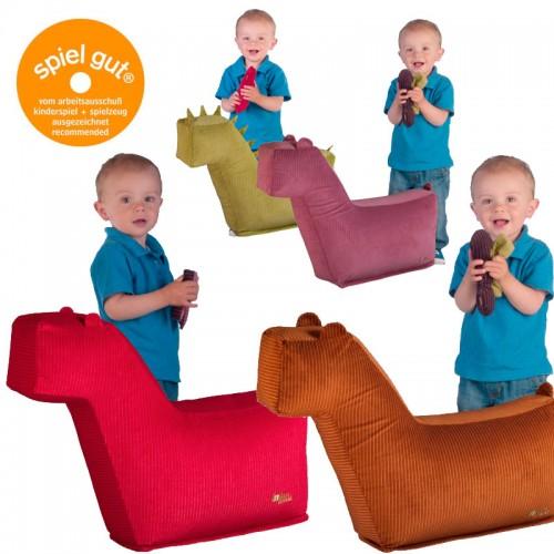 Kleines Sitzkissen für Kinder - Sitztier von InGrün Designs