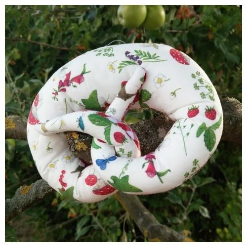 Auryn Knisterbrezel »Pilz« Greifling aus Bio-Baumwolle