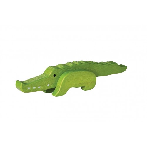 EverEarth Bambus Krokodil FSC® Holzfigur