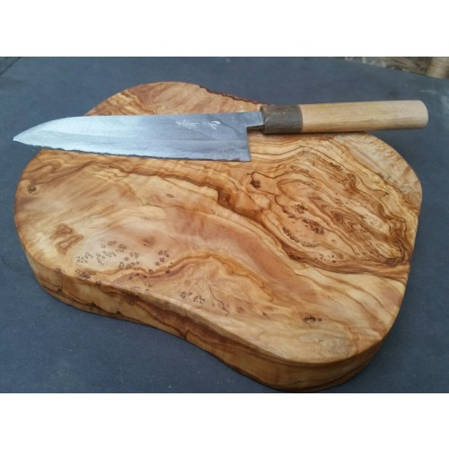 Küchenarbeitsbrett 3,5 cm dick, massives Olivenholz | D.O.M.