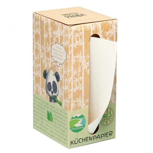 Smooth Panda Bambus Küchenpapier in Spender Box