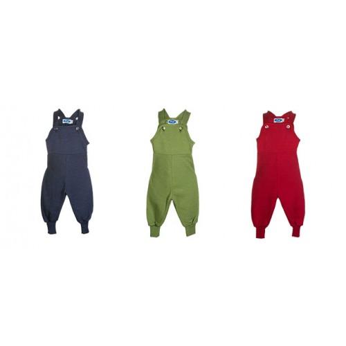 Baby Frottee Latzhause aus Bio-Wolle/Seide von Reiff