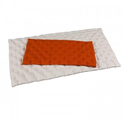 Bio-Hirseschalen Matratze für Baby-und Kinderbett | speltex