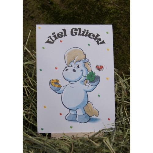 Postkarte - Grüße und Wünsche - Viel Glück