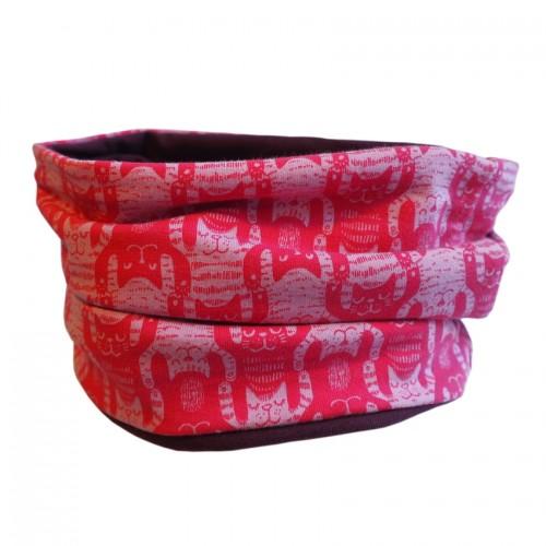 Pink Loop Winkekatze aus Bio-Baumwolle | bingabonga