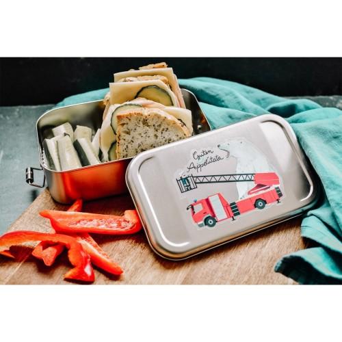 Kinder Edelstahl Lunchbox 'Guten Appetütata' » Tindobo