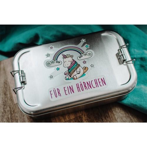 Einhorn Lunchbox Edelstahl » Tindobo