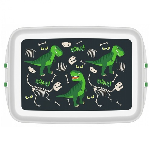 DINO Lunchbox aus Biokunststoff - Öko Brotdose | Biodora