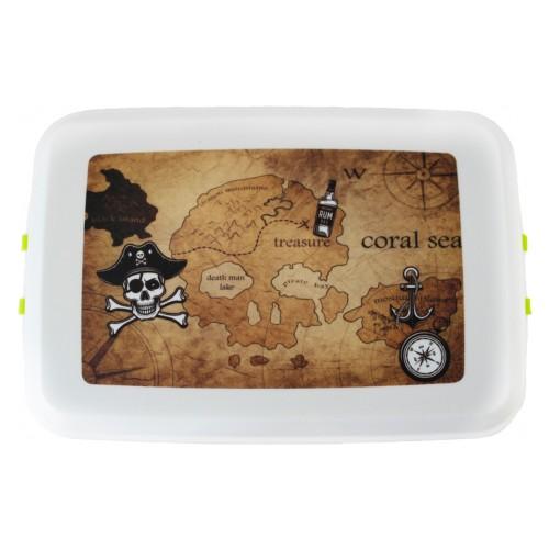 "Biodora Lunchbox - Biokunststoff Brotdose - Modell ""Pirat"""