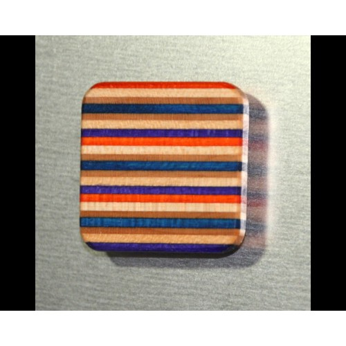 Pinwand-Magnet aus Skateboard-Holz | Restwert Upcycling
