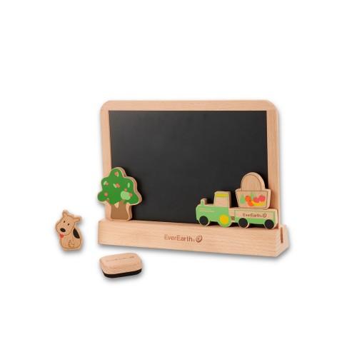 EverEarth Maltafel für Kinder Öko Lernspielzeug
