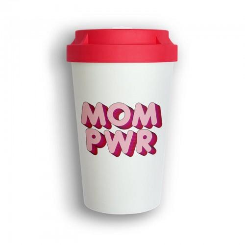 bico2go Bio Mehrweg Kaffeebecher to go Heybico MOM PWR