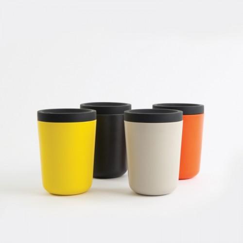 Mehrweg-Kaffeebecher To-Go aus FSC Bambus   EKOBO