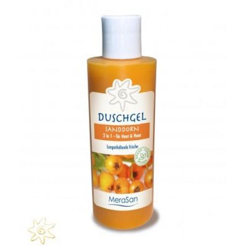 Duschgel & Haarshampoo mit Sanddorn von MeraSan