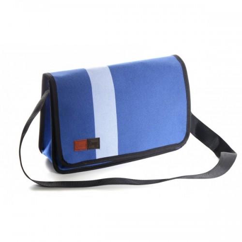 Upcycling Messenger Bag Jean-Noël aus Judomatten