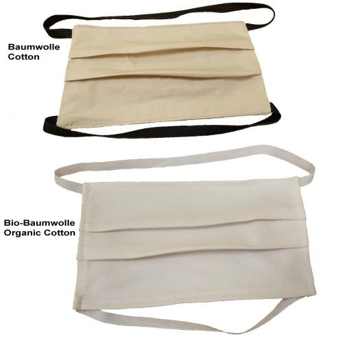 Behelfs-Gesichtsmaske, waschbare (Bio) Baumwolle   bloomers