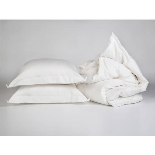 Bettwäscheset Baumwollsatin Warm White